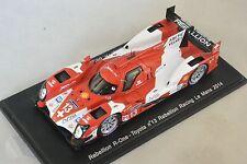 Spark S4207 - REBELLION R-One Toyota Rebellion n°13 Le Mans 2014 Kraihamer 1/43