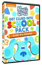 Blue's Clues Get Clued In School Pack Learning Pack Blues Region 1 into New DVD