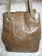 """Magnifique  et authentique sac seau  cuir  vintage   """"TEXIER""""  TBEG   bag"""