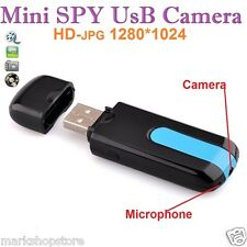 Mini Spy Camera Cam USB Port Disk HD Motion Detector Video Recorder Hidden pen