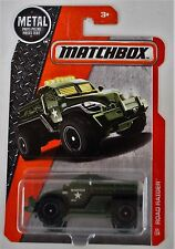 Matchbox Road Raider Military Police Truck Green Metal Pieces 1:64