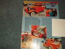1931 Ford Hot Rod Model A Pickup Article
