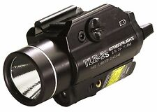 STREAMLIGHT 69230 TLR-2S GUN MOUNT LIGHT LED FLASHLIGHT WITH RED LASER