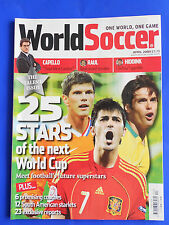 WORLD SOCCER MAGAZINE APRIL 2009  25 Stars of the Next WORLD CUP