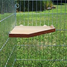 Small Pet Wood Platform & Shelter for Chinchilla Hamster Rat Ferret Mice Cage