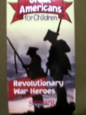 Great Americans for Children: Revolutionary War Heroes (2003, VHS)