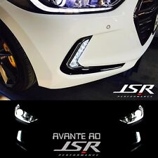 LED 2Way Daytime Running Light DRL Day Light For Hyundai Avante AD Elantra 2017+