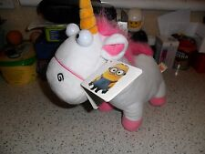 """Despicable Me 2 Unicorn Soft Toy - 10 X 12"""" - New With Tags"""