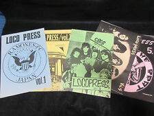 Locopress Japan Ramones Fanzine Book Vol. 1-5 Lot Dee dee Joey