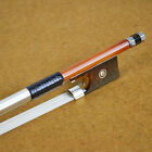 NEW YEAR AUCTION!! Master Pure Silver Mounted Pernambuco Violin Bow