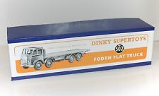 DINKY Reproduction Box 502 Foden Flat Truck  High Quality Repro 1st Cab (902)