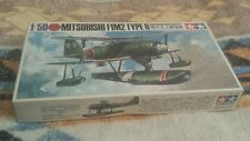 Tamiya Mitsubishi F1M2 Type 0 Observation Seaplane (PETE) 1/50 MA-111 sealed old