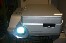 NEC MultiSync DT100 LCD Projector  1301 Hours of use ONLY see all  12 pix Tested