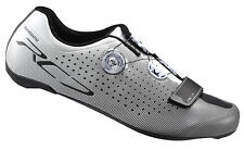 Shimano 2017 SH-RC7 Carbon Road Bicycle Cycling Bike Shoes White - 44.5 (US 10)