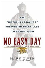 No Easy Day Mission That Killed Osama Bin Laden Mark Owen Hardcover