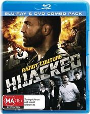 HIJACKED BLU RAY & DVD, 2 DISC SET, RANDY COUTURE BRAND NEW & SEALED! !