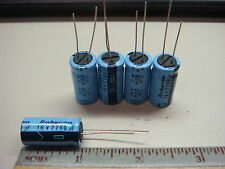 (5) 16WV2200MFD 2200uf 16V 85° RUBYCON Radial Electrolytic Capacitor USA SELLER
