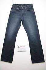 Levi's 507 bootcut blu scuro (Cod.E1131) Tg 45 W31 L34 jeans usato boyfriend