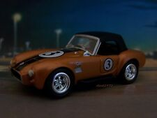 1965 65 SHELBY AC COBRA 427 HARDTOP ROADSTER COLLECTIBLE MODEL - 1/64 DIORAMA