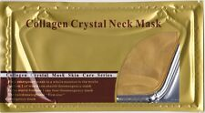 10x Gold Bio Collagen Neck Pads Masks, Anti Wrinkle / Aging, High Moisturize