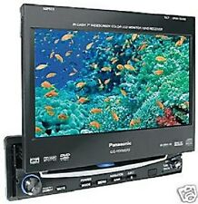 "Panasonic cq-vd7001n mp3 DVD 7"" TFT in 16:9 moniciever autoradio DIN 1 anno G."