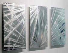 Metal Abstract Modern Silver Wall Art Decor Sculpture Home Decor by Jon Allen