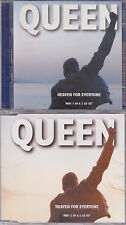 Queen - Heaven For Everyone - Deleted UK 7 track 2CD single set