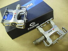 Exustar E-PT12 (Fully Sealed) PEDALS Track Road Racing Bike Cycle CNC Aluminium