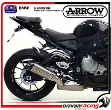 Arrow Works Titanio 71750PK - BMW S 1000 RR 2012 12  Terminale Scarico Escape e9