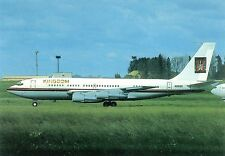 Kingdom Airways Boeing 707-138B N-138SR at Prague (PRG) 1996  Postcard