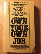 Own Your Own Job: Economic Democracy For Working Americans- Rifkin store#2789