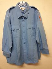 Liberty Police / CHP Uniform Long Sleeve Shirt Sizes: 19 - 19 1/2 34/35 (A2263)