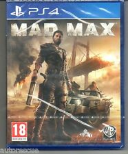 Mad Max  'New & Sealed' FREE P&P  *PS4(Four)*
