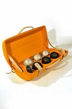 VEUVE CLICQUOT PETANQUE BOULES SET IN TRAVELLER CASE BRAND NEW BOXED VCP INDOORS
