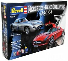 "Revell Mercedes Benz ""Gullwing"" Gift Set  (05716) Plastic Model Kit"