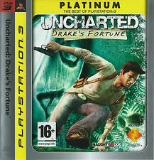 UNCHARTED DRAKE'S FORTUNE PS3 Game (PRE OWNED) (USED) Excellent Condition