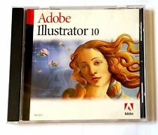 Adobe Illustrator 10 MAC IE Vollversion MWST Retail english