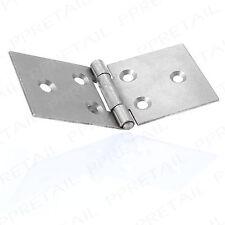10 x HEAVY DUTY STEEL Backflap Hinges 1½ Inch / 38mm Set Back Flap Gate/Door Box