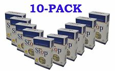 New & Improved Super Stop 8-hole Cigarette Holder 10-pack 300 Filters SHIPS FREE