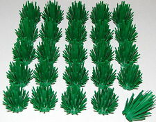 LEGO LOT OF 25 NEW GREEN PRICKLY BUSH PLANTS TREE GARDEN TOWN CITY PIECES