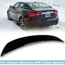 Painted #KH3 For Nissan Maxima A36 8th 4D OE Rear Trunk Spoiler 2017 SR SL SV