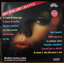 MARIO CAVALLERO POP HITS VOL. 12 CHEESECAKE COVER FRENCH LP