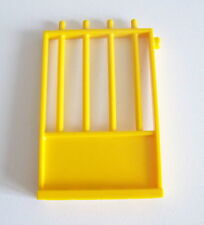 PLAYMOBIL (O2229) ZOO - GRILLE JAUNE pour CAGE PARC 3240