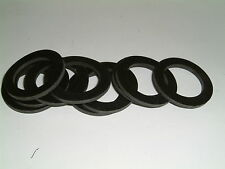 10 Rubber Washers 52mm O/D X 42mm I/D X 1.6mm Thk