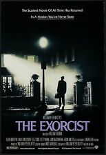 """THE EXORCIST Director's Cut 2000RR Original DS 2 Sided 27x40"""" Movie Poster"""