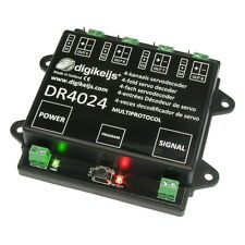 DIGIKEIJS DR4024 SERVO DECODER  - WORKS WITH ALL DCC BRANDS!!