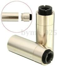 2Pcs 12*30mm Gold Housing Host w/ 200nm-1100nm Lens for 5.6mm TO-18 Laser Diode