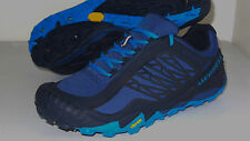 New Merrell M Select Dry Allout Terra Ice WP Hiking Trails Shoe Men 9 Blue