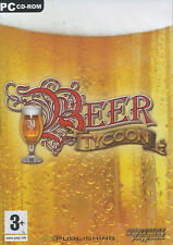 BEER TYCOON Brewery Simulation Brew Classic Drinking Fun PC Game NEW in BOX!