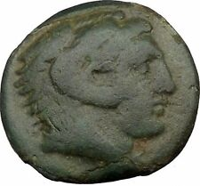 Alexander III the Great 336BC Ancient Greek Coin Hercules Bow Club i37065